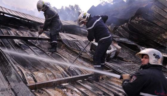 Un incendie fait trois blessés à Constantine