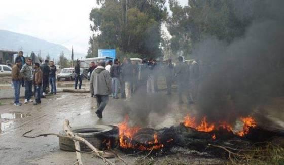 Protestation à Béjaïa