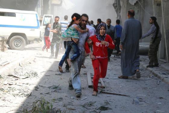 Attaque chimique à Alep:  l'Occident bizarrement muet