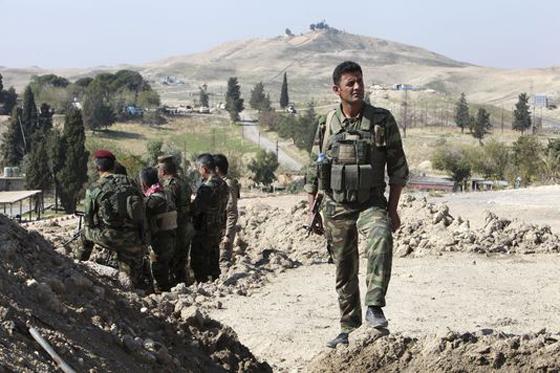 Pressions US sur Ankara  pour laisser passer les Peshmergas vers Kobané