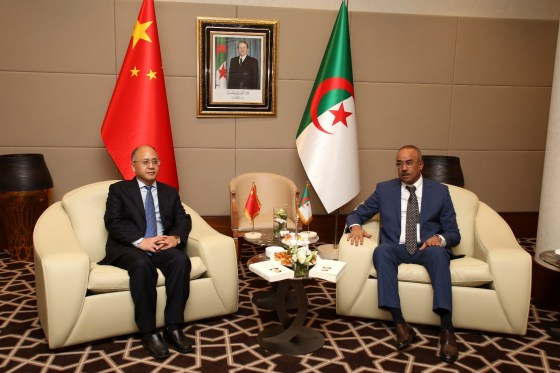 L'Algérie et la Chine œuvrent à consolider leur coopération