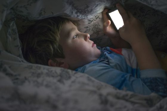 Les électroniques menace la santé mentale des enfants