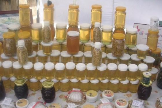 La production de miel dans un état amer