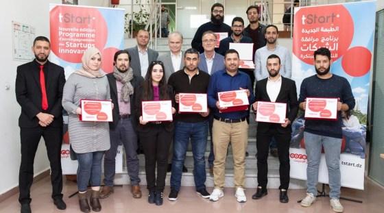Les gagnantes du Programme de Ooredoo tStart 2018