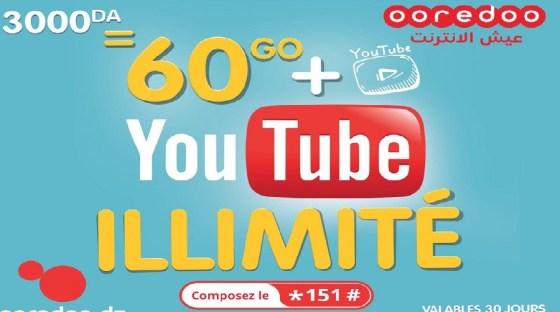 Ooredoo : Profitez d'un maximum d'Internet haut débit et YouTube en illimité