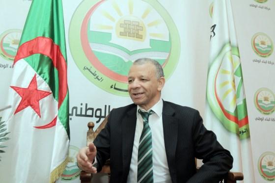 Bengrina: « La présidentielle n'est pas la solution à nos multiples crises »