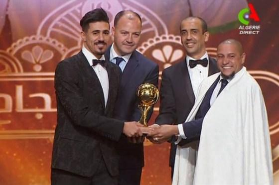 Bounedjah ballon d'or d'El Haddaf