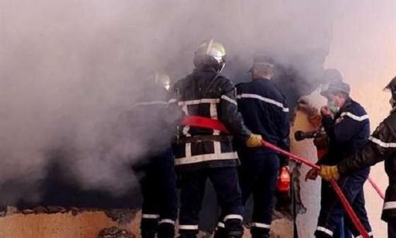 Incendie dans un marché à Boufarik: Un mort et des dégâts considérables