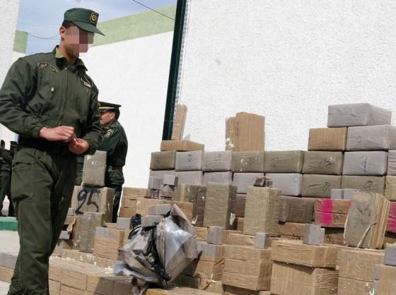 gendarmerie nationale : Près de trois tonnes de kif saisies en 2018