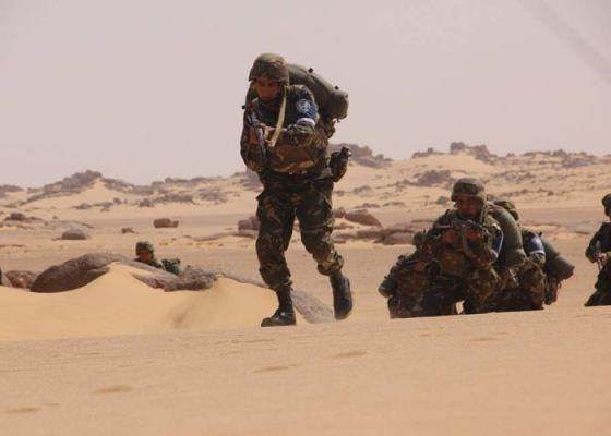 Reddition d'un terroriste armé à In Amenas
