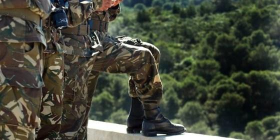Reddition d'un terroriste armé