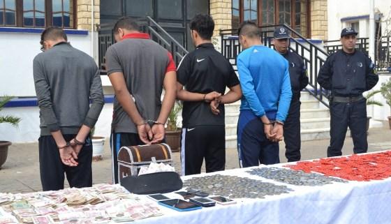 Cinq malfaiteurs arrêtés par la sûreté de Draâ Ben Khedda