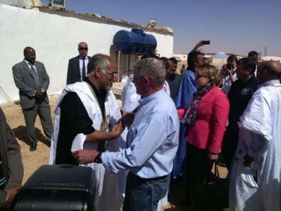 Une délégation du Congrès US chez les réfugiés sahraouis