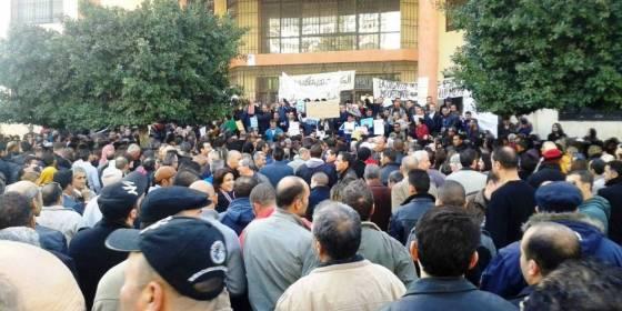 Déferlante estudiantine à Béjaïa : Les enseignants se sont joints au mouvement