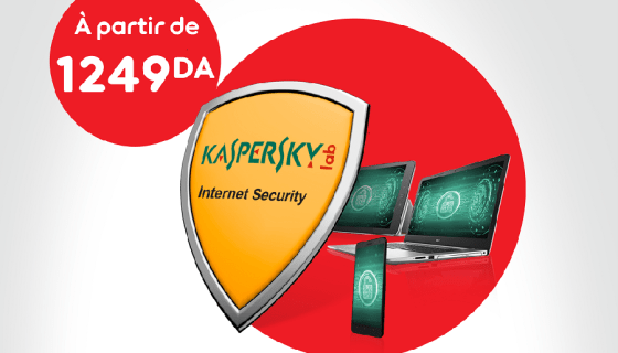 « Kaspersky Internet Security » by Ooredoo : Assurez une protection optimale