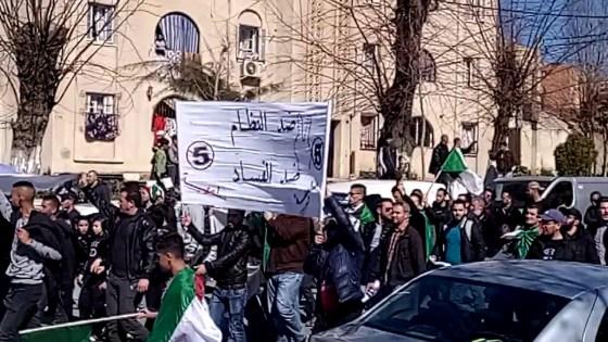 Marche contre le 5ème mandat à Médéa
