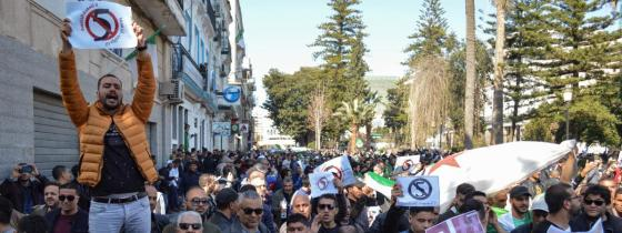 Manifestation citoyenne : Nouvelle marche de protestation à Annaba