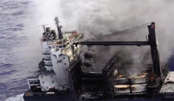 Port d'Alger : Incendie maîtrisé sur un cargo