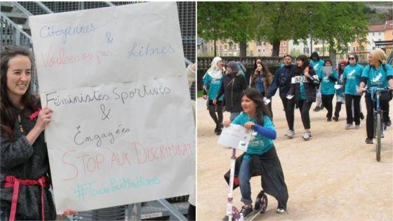 A Grenoble, des femmes courent pour la liberté des femmes voilées
