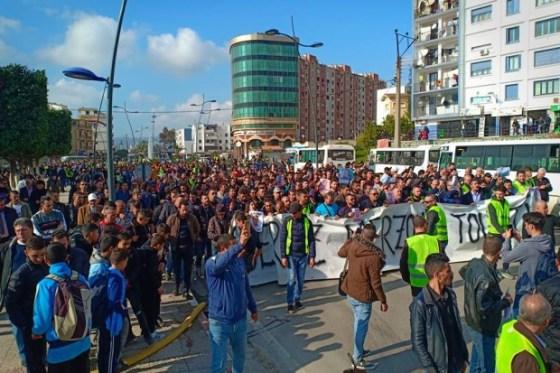 Béjaïa: Grande mobilisation contre le régime politique