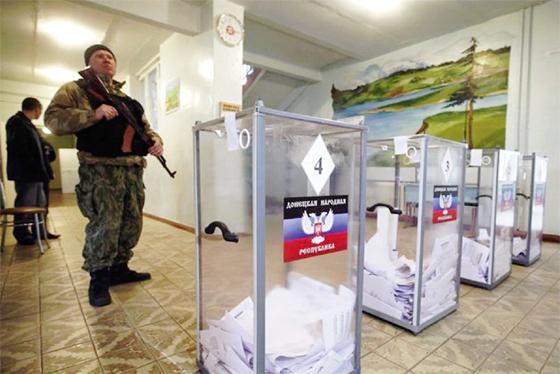 Moscou légitime les législatives des séparatistes en Ukraine