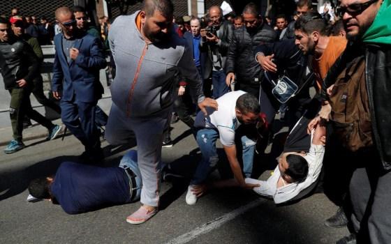 Mobilisation et détermination : Des blessés au terme de la marche