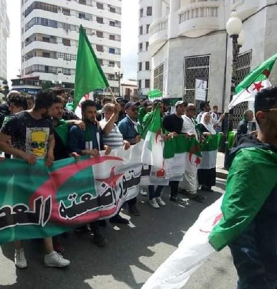 La mobilisation populaire se poursuit  à Constantine