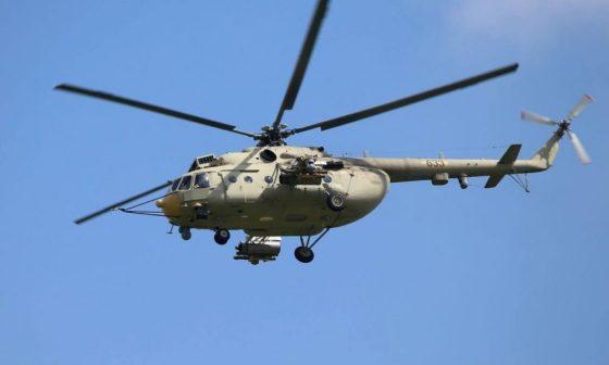 Crash d'un hélicoptère de l'armée à Guemar
