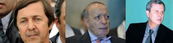 Saïd Bouteflika, Toufik et Tartag arrêtés