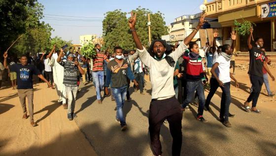 Au moins 35 manifestants tués par des manifestants au Soudan