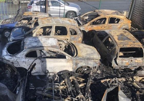 Un incendie ravage un bidonville et la fourrière de Constantine