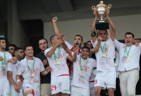 Le CR Belouizdad remporte sa 8e coupe d'Algérie