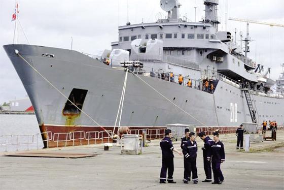 Moscou : Les congressistes US invitent l'Otan à racher les navires