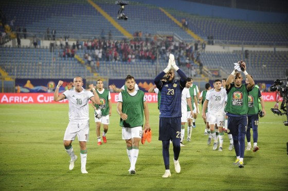 CAN2019 : L'Algérie dispose du Kenya 2-0