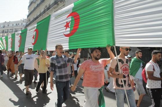 Image du jour: Des drapeaux au nom de 48 wilayas