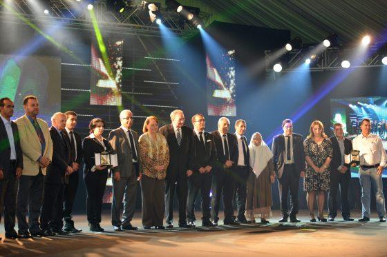 Une cérémonie grandiose pour distinguer les lauréats