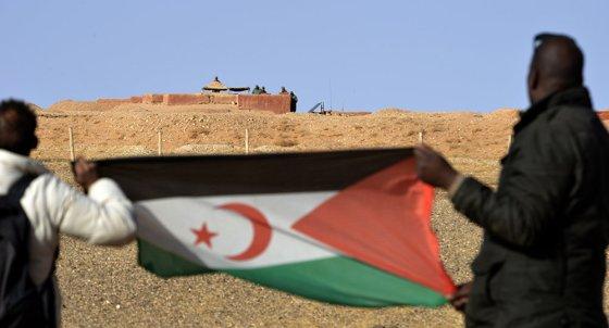 sahara occidental : Scènes de liesse à El Ayoun