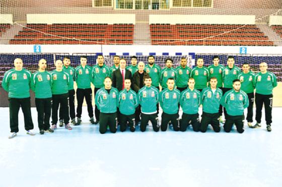 L'équipe nationale messieurs en Tunisie