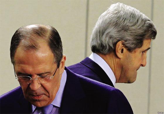 Lavrov : « Pas d'entente entre Moscou et Washington »