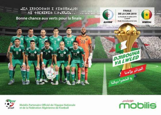 Suivez en directe la finale de la CAN 2019 avec Mobilis