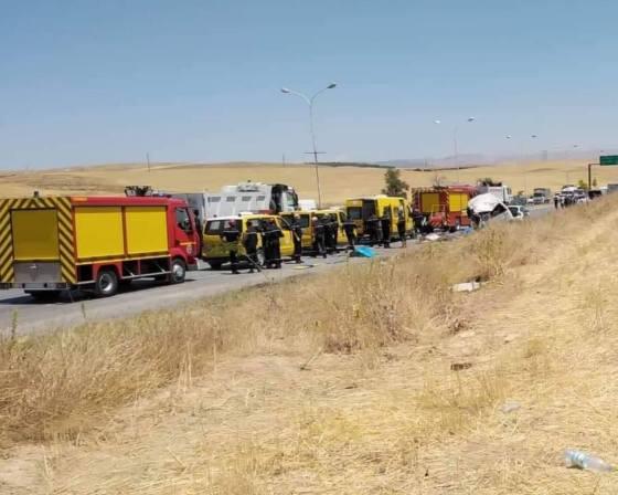 Effroyable collision à Sétif: Onze morts et treize blessés