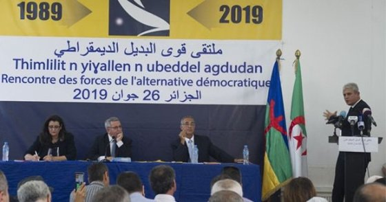 Les «Forces de l'alternative démocratique» en conclave