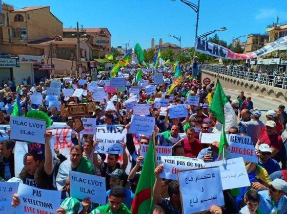 Marche des étudiants à Béjaïa: Le changement de régime, une constante