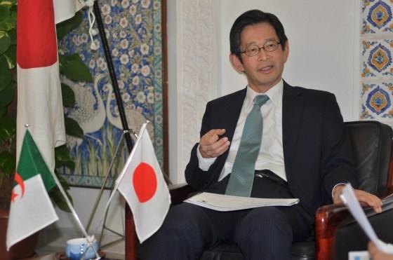 L'ambassadeur du Japon au JI :  «Les échanges entre Alger et Tokyo sont en deçà des ambitions des deux pays »