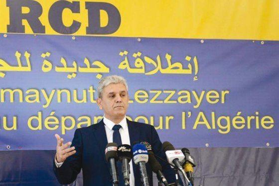 Réunion des Forces de l'Alternative démocratique au siège du RCD