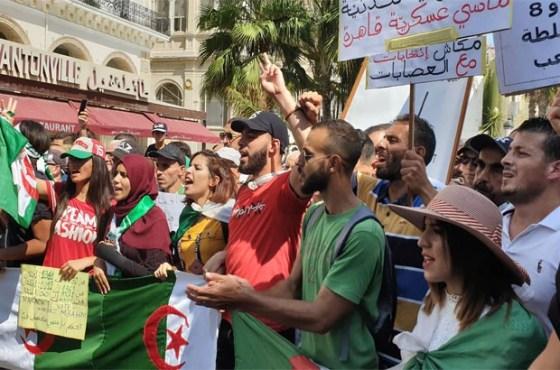 Nouvelle marche estudiantine à Tizi Ouzou