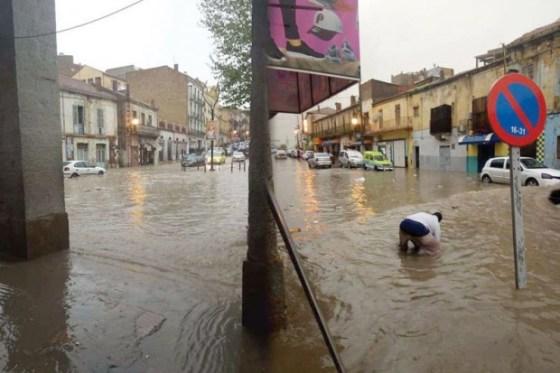 Bouira : Routes coupées et habitations inondées