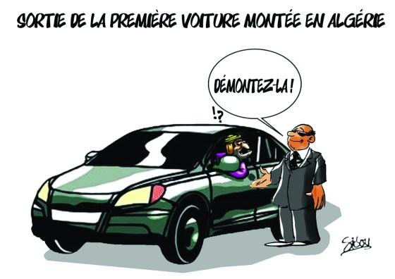 1er voiture sorite de l'Algérie