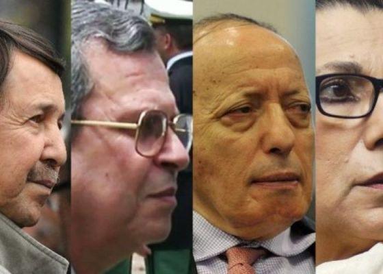 Procès de Saïd Bouteflika, Toufik, Tartag, Hanoune Condamnés