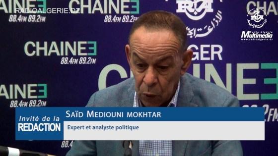 Mokhtar Said Medouini : « La structuration du hirak est une nécessité »